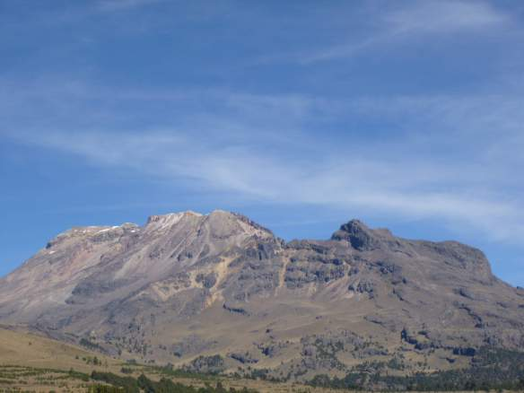 Iztaccihuatl, viewed from near La Joya.