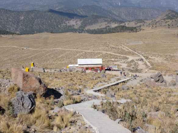 The Piedra Grande hut.