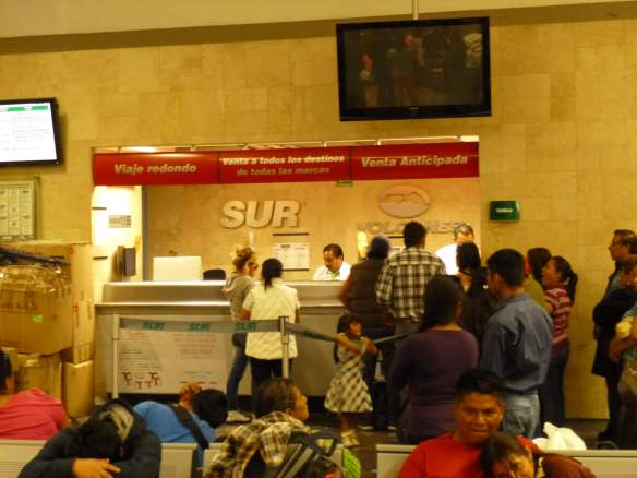 Bus tickets to Amecameca can be purchased at the SUR / Volcanes Ticket Counter in the TAPO bus station, Mexico City.