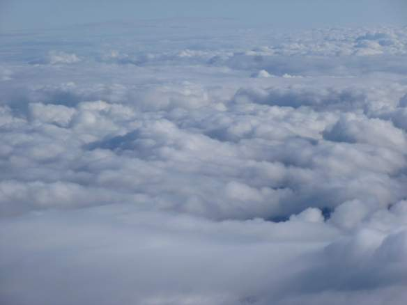The cloud ocean.
