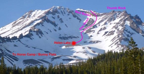 Avalanche Gulch.