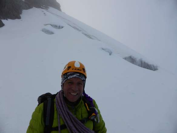 My climbing partner and mountain guide Pato.