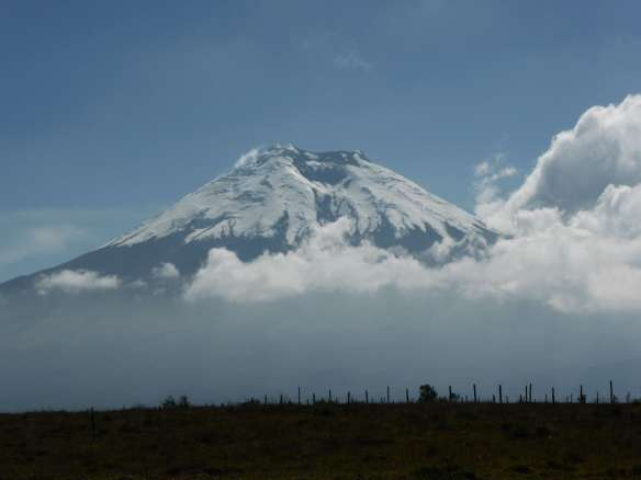 Cotopaxi from near Machachi.