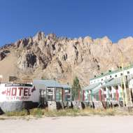 The Hotel Ayelen at Penitentes.