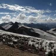 Cerro Cuerno from Nido de Condores.