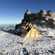 Indepencia Hut.