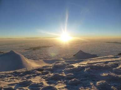 Sunrise, Illimani