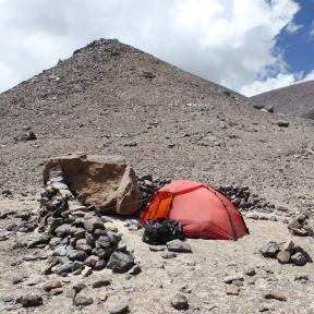 Aguas Vicunas campsite.