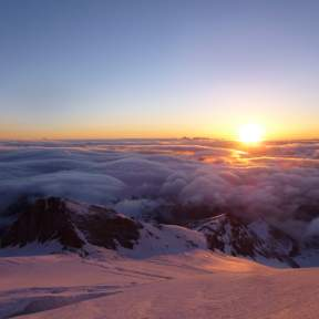 Sunrise, Emmons Glacier